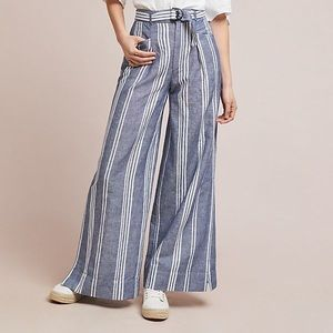 Anthropologie Beachy Wide Leg Pant